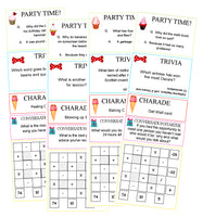 Party Crackers Activity Sheets