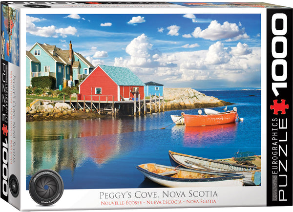 "Jigsaw Puzzle | ""Peggy's Cove, Nova Scotia"""