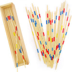 Wood Pick Up Sticks Game