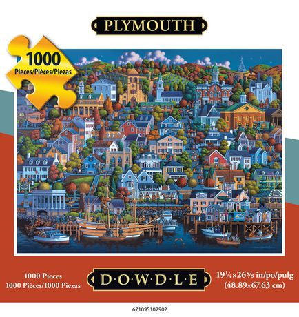"Jigsaw Puzzle | ""Plymouth"" by Eric Dowdle"