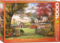 "Jigsaw Puzzle | ""The Pumpkin Farm"" - 1,000 pieces"