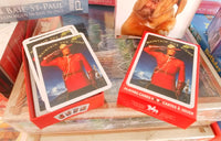RCMP playing cards showing nifty gift box