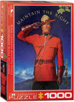 "Cottage Jigsaw Puzzle |  RCMP ""Maintain the Right"" - 1,000 puzzle pieces."