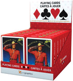 Box with 12 decks of RCMP Playing Cards