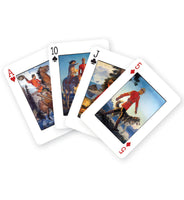 Deck of Cards decorated with illustrations of RCMP