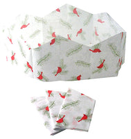 "Christmas Cracker Paper Hats | ""Red Cardinals"""