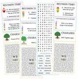Family Reunion Activity Sheets