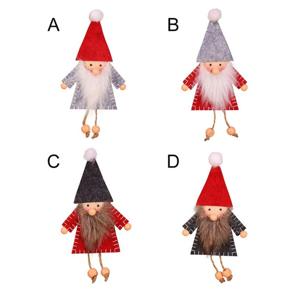 Santa Gnome Tree Ornaments