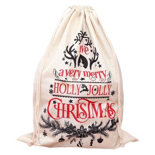 "Giant Santa Sack - ""Have a Very Merry Christmas"""