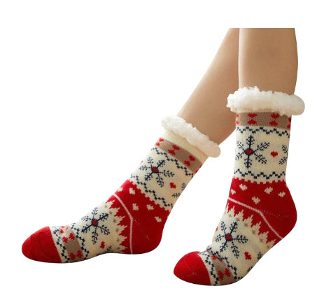 Snow Flake Socks - Thermal to keep you warm!