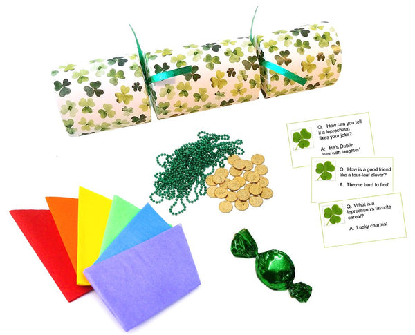 St. Patrick's Day Party Crackers
