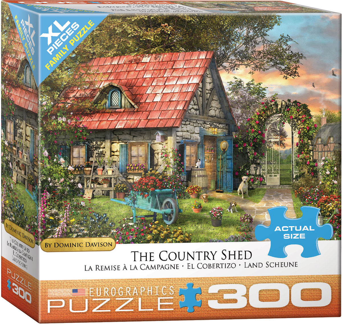 "Jigsaw Puzzle | ""The Country Shed"""