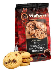 Walkers Pure Butter mini chocolate chip Shortbread rounds
