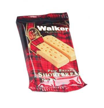 Walkers Pure Butter mini Shortbread fingers - Individual Serving