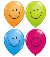 Winky Face Balloons