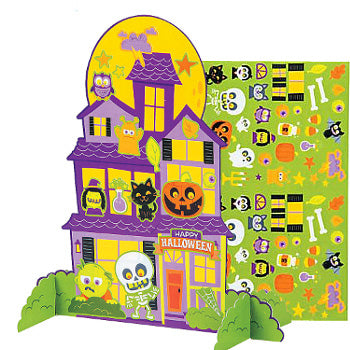 Halloween Craft Kit - Build a haunted house