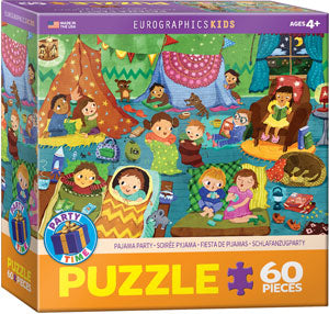 "Kids' Jig saw puzzle | ""Pajama Party"" - 60 pieces"