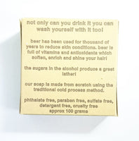 About Big Beer Soap
