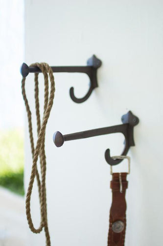 RUSTIC CAST IRON HOOK