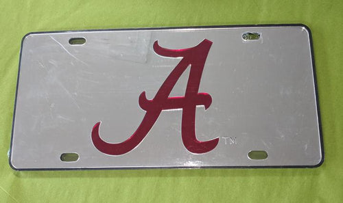 AL Car Tag Mirrored