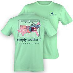 SouthPatch Mint Simply Southern T'