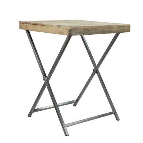 Pop Up Bistro Table with two Bouchon Bar Stools