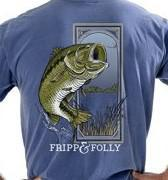 Fripp & Folly Large Mouth Bass T'