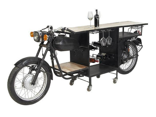 Iron Wood MotorBike Bar