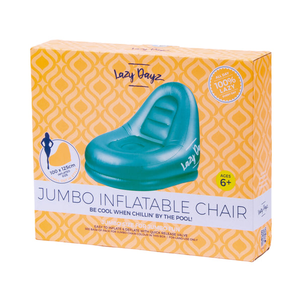 Jumbo Inflatable Chair - Lazy Dayz