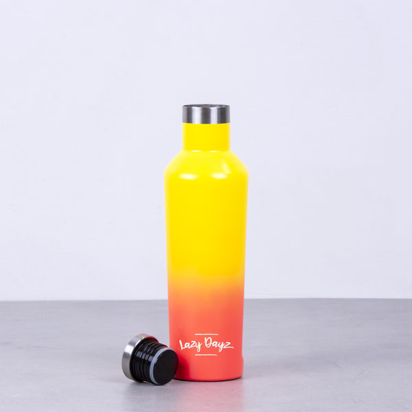 Spartan Drink Bottle 480ml - Orange Pink Ombre,Pink Blue Ombre,Yellow Peach Ombre - Lazy Dayz