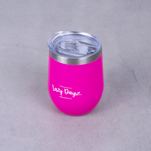 Stemless Wine Cup 350ml - Lazy Dayz