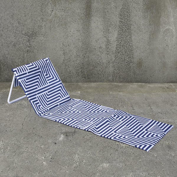Fold Up Beach Lounger - Lazy Dayz