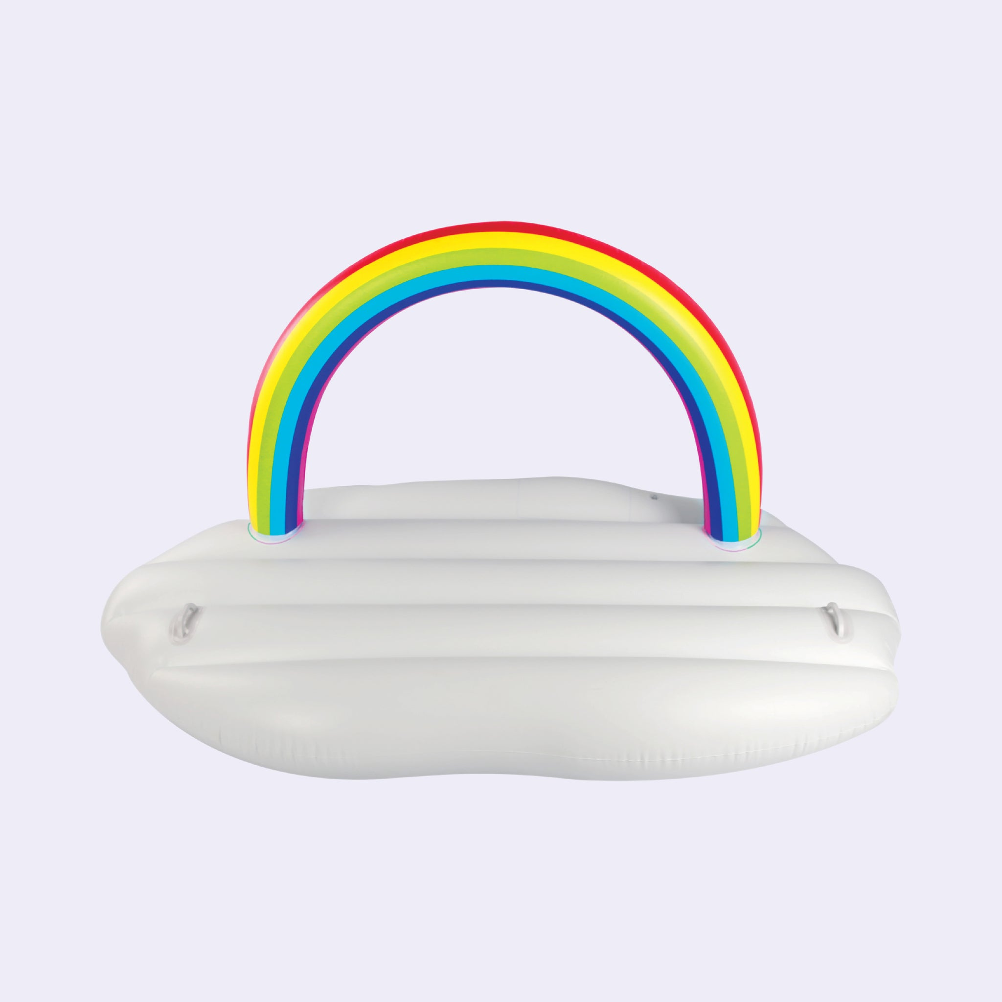 Inflatable Rainbow Cloud Float 185cm - Lazy Dayz