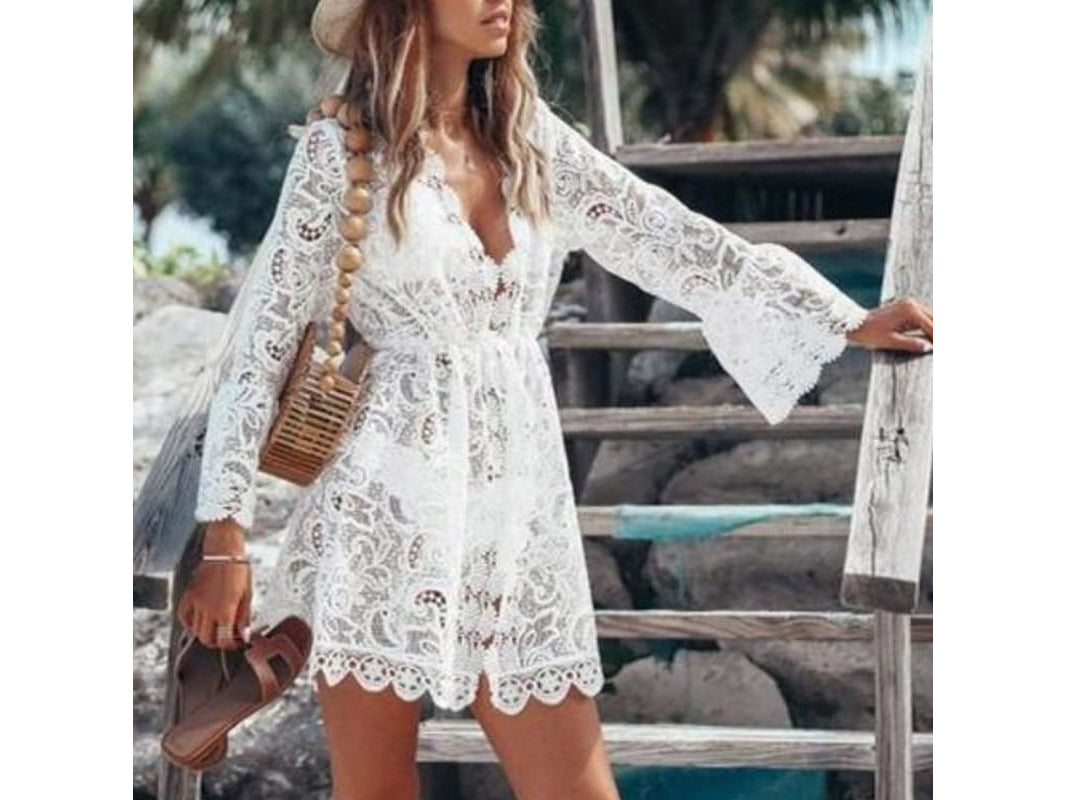 Orchid Boho Cover Up