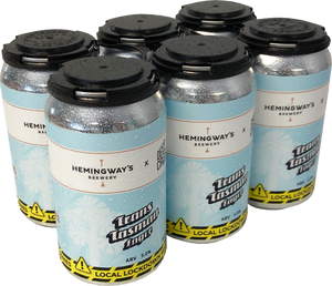 Trans Tasman Lager 18 pack - Collab Hemingway's x Deep Creek