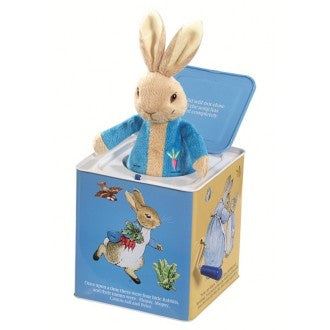 Beatrix Potter: Peter Rabbit Jack In The Box