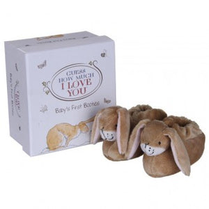Guess How Much I Love You - Large Nutbrown Hare Booties Set