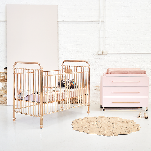 Ellie Cot Rose Gold