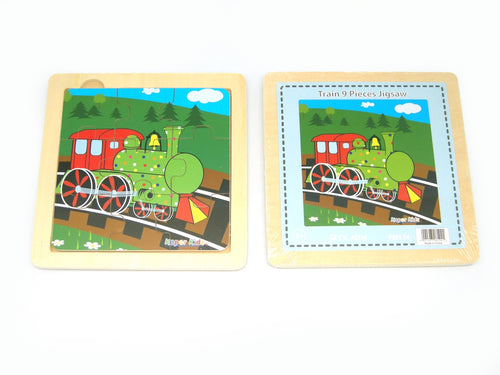 Train 9PCS Jigsaw Puzzle
