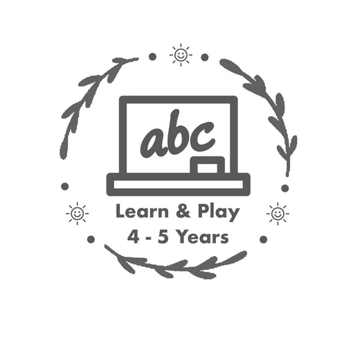 Learn & Play Subscription Box - 4 – 5  Years