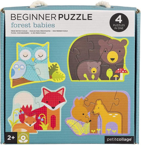 Beginner Puzzle - Forest Friends
