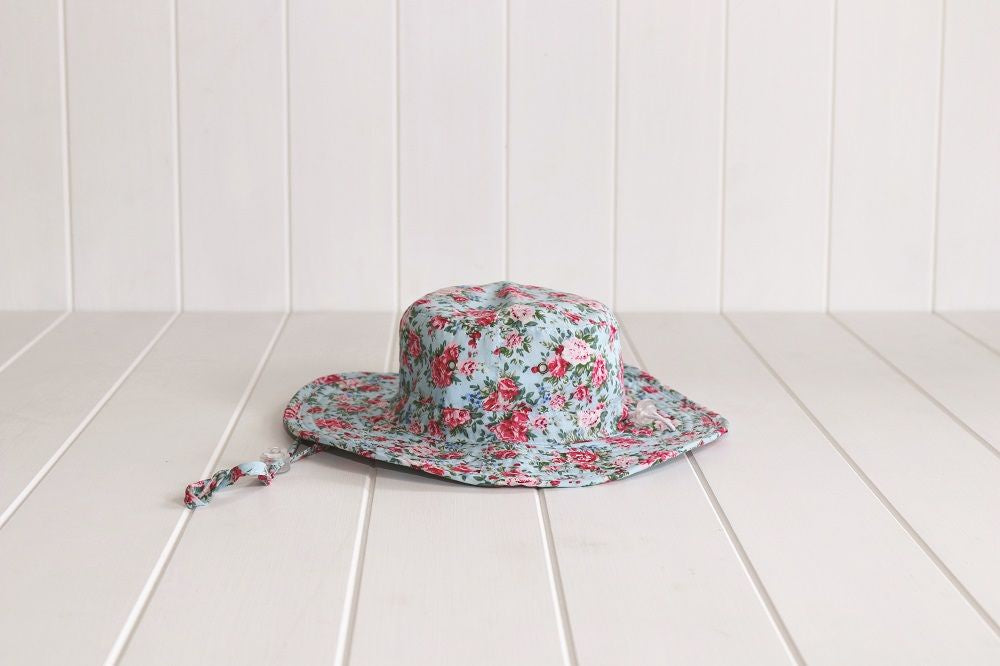 Hat - Amber Cloth 3 - 6 Years - Floral
