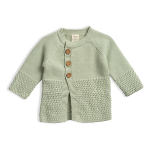 Knitted Cardigan - Sage