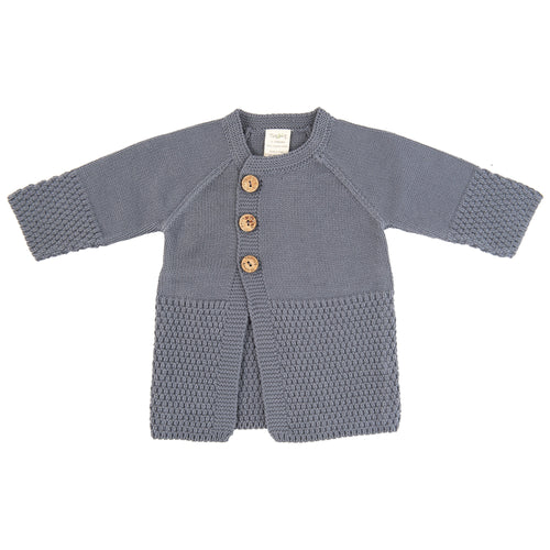 Knitted Cardigan - Soft Grey