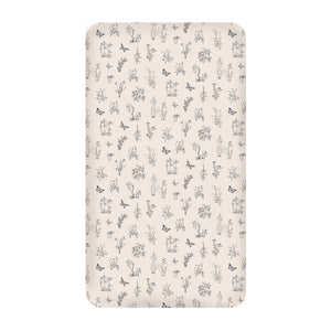Blush Meadow Cot Sheet
