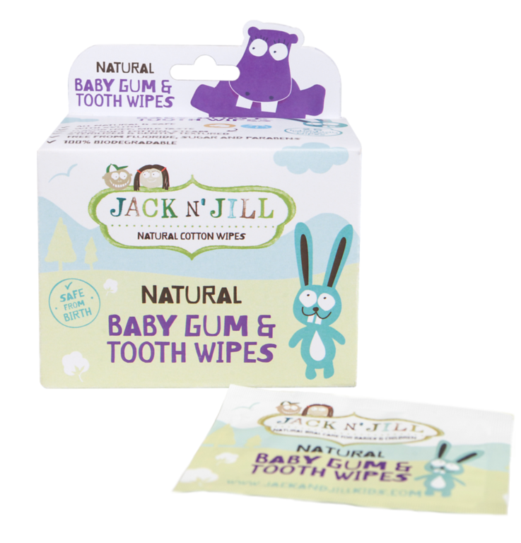Jack N Jill Baby Gum + Tooth Wipes 25 Pack