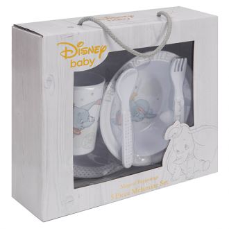 Dumbo: 5PC Melamine Set