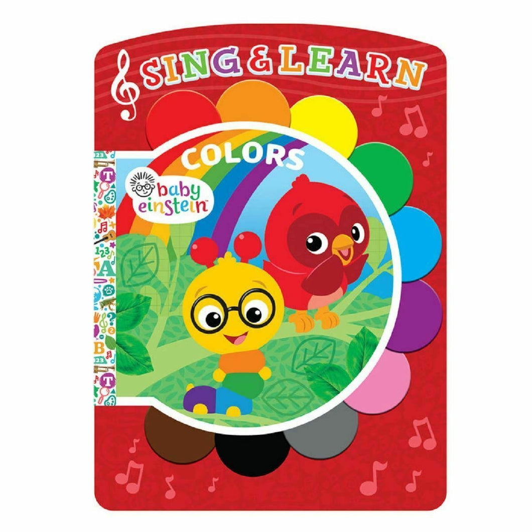 Baby Einstein Colors – Sing & Learn Book