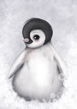 Load image into Gallery viewer, Romeo - The Baby Penguin Available In Pink/Grey