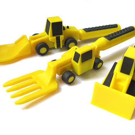 Construction 3 Piece Cutlery Set